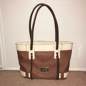 Guess Handbag/Purse Tan/Cream Great Condition